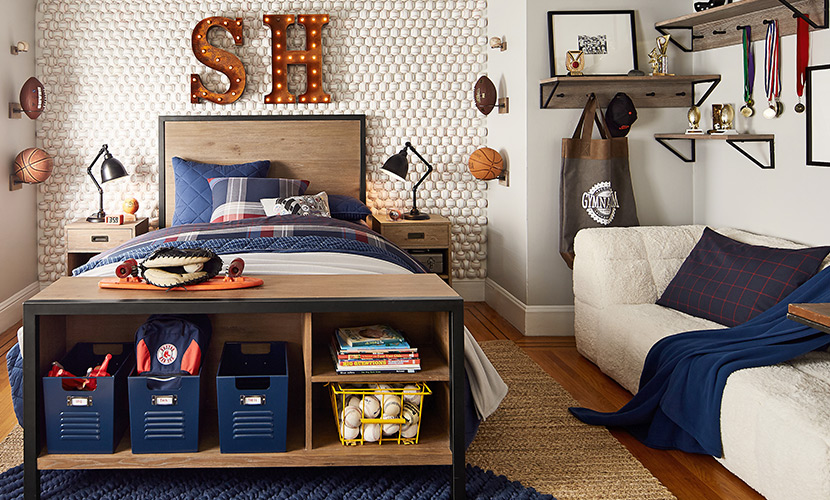 6 Small Bedroom Makeover Ideas Pottery Barn Teen