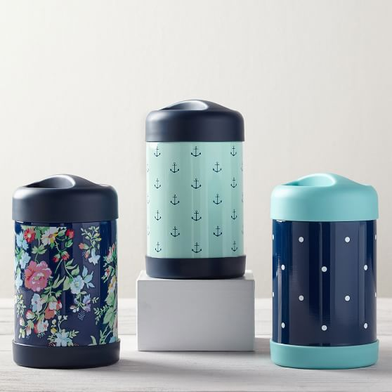 Navy Ditsy Floral 16 Oz Thermos Pottery Barn Teen