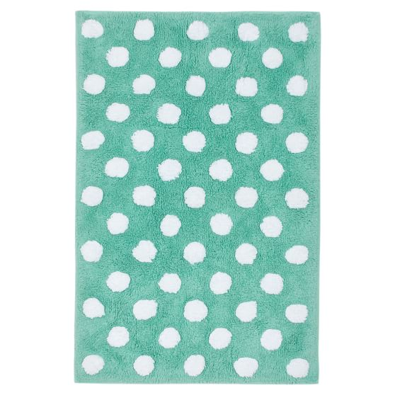 Dottie Bath Mat Pottery Barn Teen