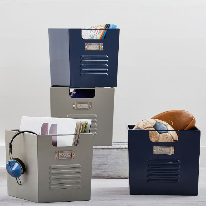 Shop Locker Bins from Pottery Barn Teen on Openhaus