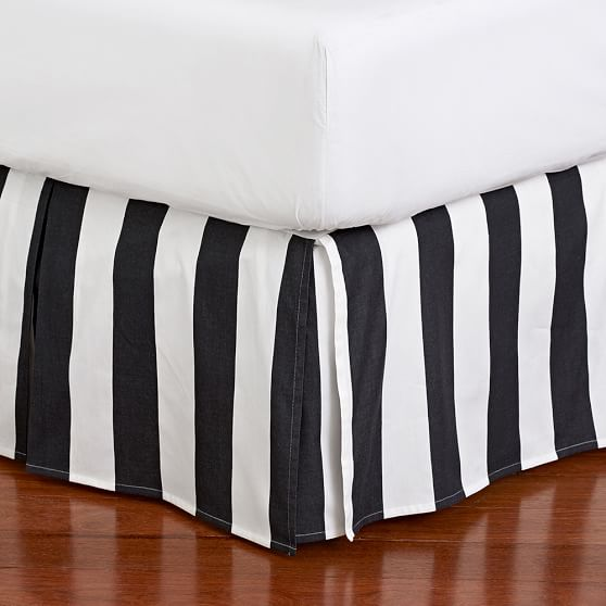 Meritt Circus Stripe S Bed Skirt