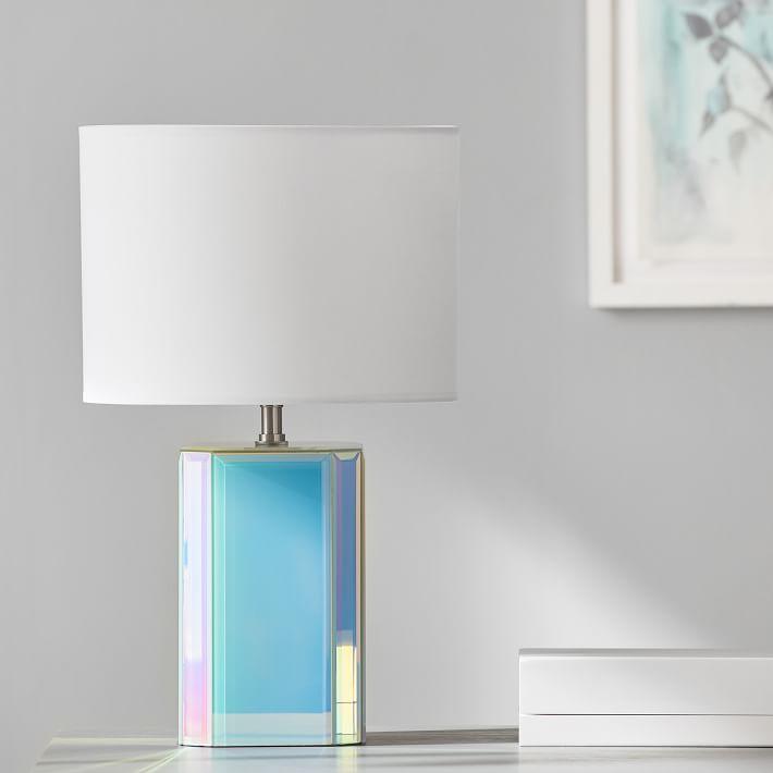 Glam tabletop lamp
