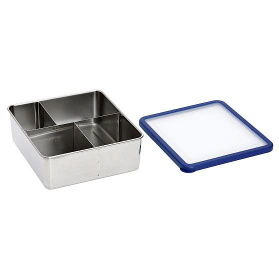 Stainless Steel Bento Box Lunch Container Pottery Barn Teen