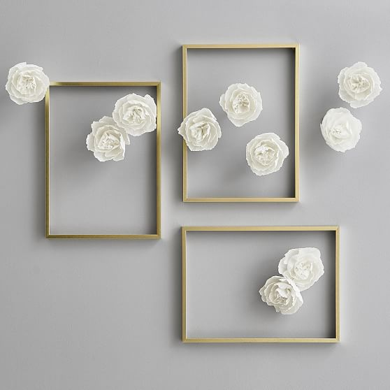 Mini Paper Flower Decor Wall Decor Pottery Barn Teen