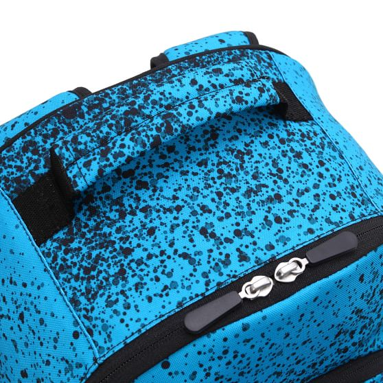 Gear Up Spray Ombre Neon Blue Recycled Backpack Pottery
