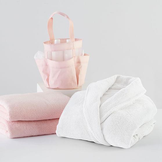 Blush Shower Caddy Bath Bundle | Pottery Barn Teen