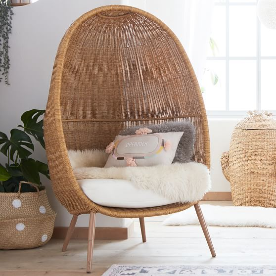 Woven Cave Chair Lounge Chair Pottery Barn Teen