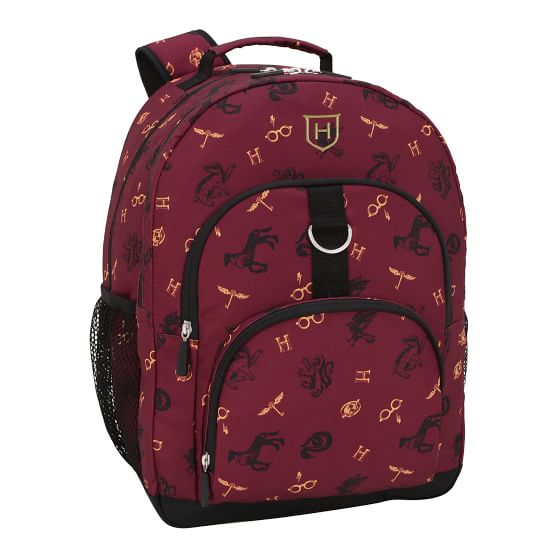 Harry Potter Gear Up Tossed Hogwarts Recycled Backpack