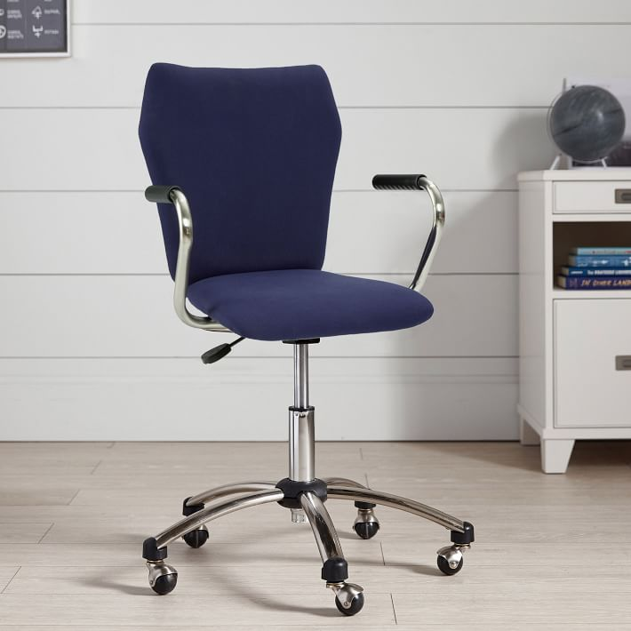 Shop Twill Airgo Swivel Desk Chair from Pottery Barn Teen on Openhaus