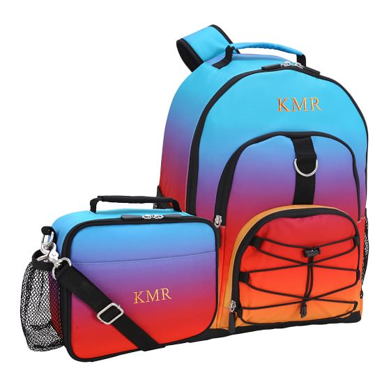 Gear Up Sunset Ombre Recycled Backpack Amp Cold Pack Lunch