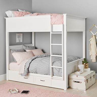 Hampton Teen Bunk Bed Pottery Barn Teen