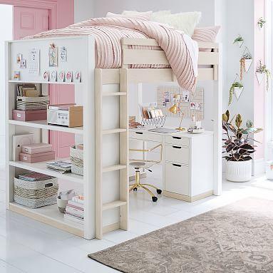 بذل الى الآن وثب ارتداد Bunk Bed With Slide And Desk Katteraser Org