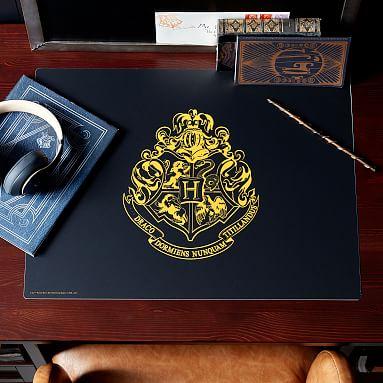 Harry Potter Hogwarts Desk Mat Pottery Barn Teen