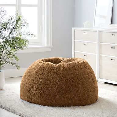 Teddy Bear Faux Fur Bean Bag Chair Pottery Barn Teen