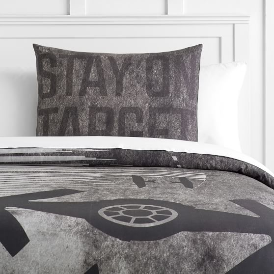 Star Wars Space Chase Boy S Duvet Cover Sham Pottery