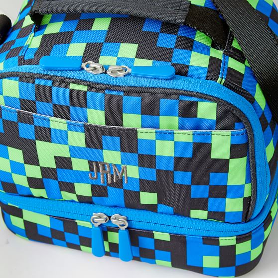 Neon Pixel Compartment Lunch Box Pottery Barn Teen