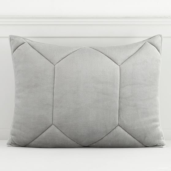 Pottery Barn Teen Luxe Plush Comforter Twin Gray Two Available NEW