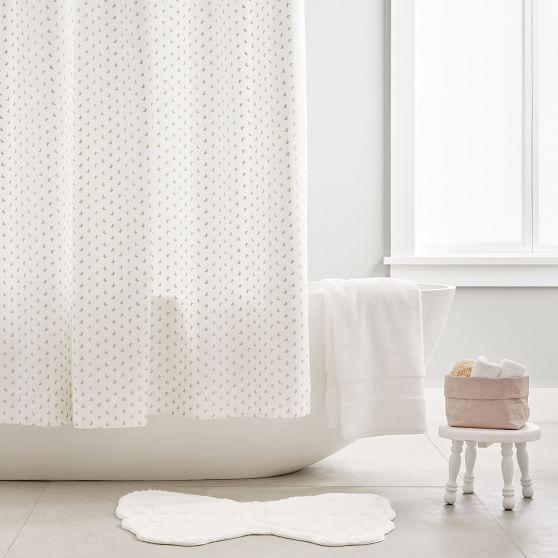 Monique Lhuillier Butterfly Shower Curtain Pottery Barn Teen