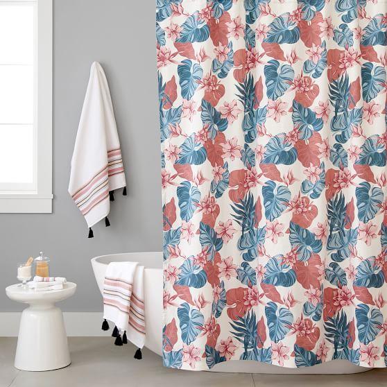 Roxy Sun Soaked Shower Curtain Pottery Barn Teen