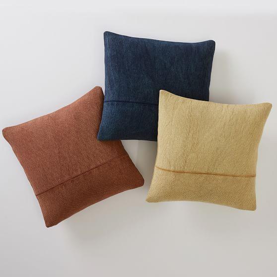 west elm x pbdorm cotton canvas pillow cover