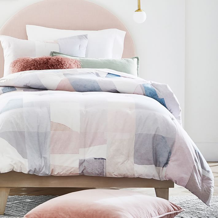 Details about  /NEW Pottery Barn Dorm Decorator Geometric Foil Pillow Cover Sham GOLD