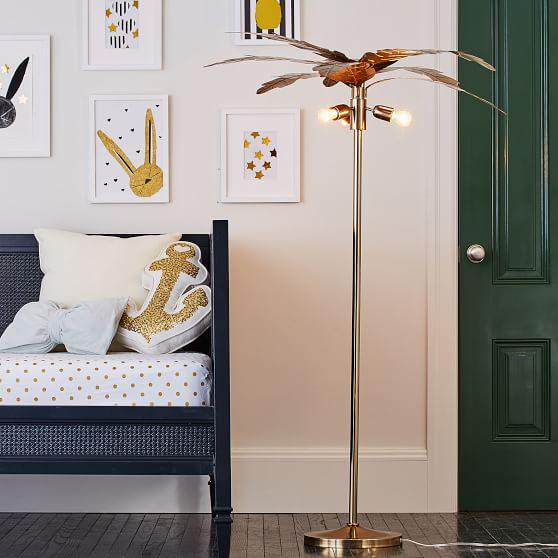 The Emily Meritt Palm Teen Floor Lamp, Palm Floor Lamp Cb2