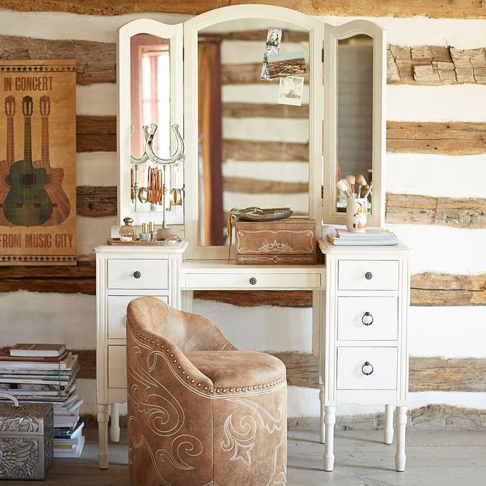 Junk Gypsy Antique Vanity Table Teen Sets Pottery Barn