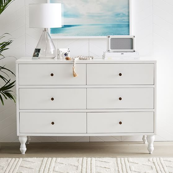 Bellevue Teen Dresser Pottery Barn, 6 Drawer Cabinet