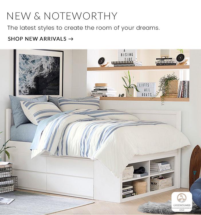 Teen Bedding Furniture Decor For Teen Bedrooms Dorm Rooms Pottery Barn Teen