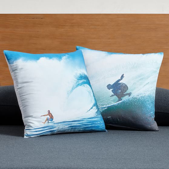 Kelly Slater Photoreal Boys Pillow Pottery Barn Teen