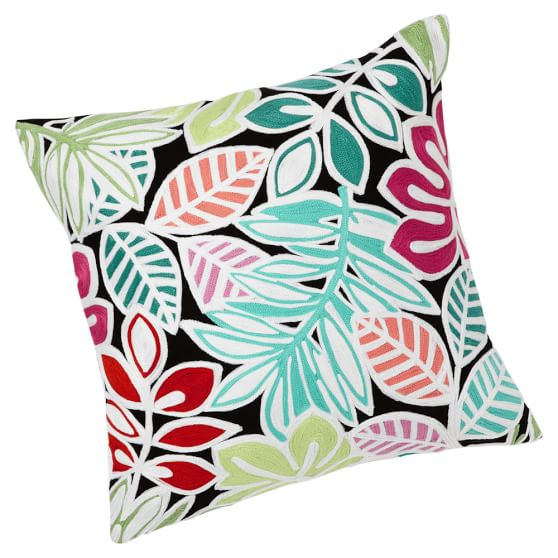Surf Crewel Pillow Covers Sale Pottery Barn Teen