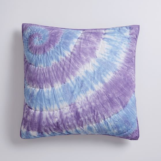 Dunes Tie Dye Euro Pillow Cover Sale Pottery Barn Teen