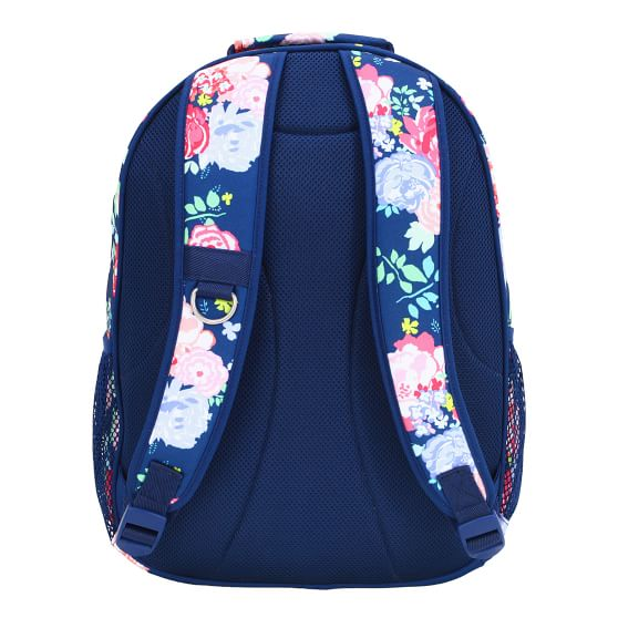 Gear Up Garden Party Floral Navy Recycled Backpack