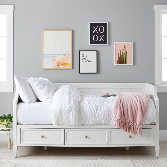 Auburn Storage Daybed Pottery Barn Teen
