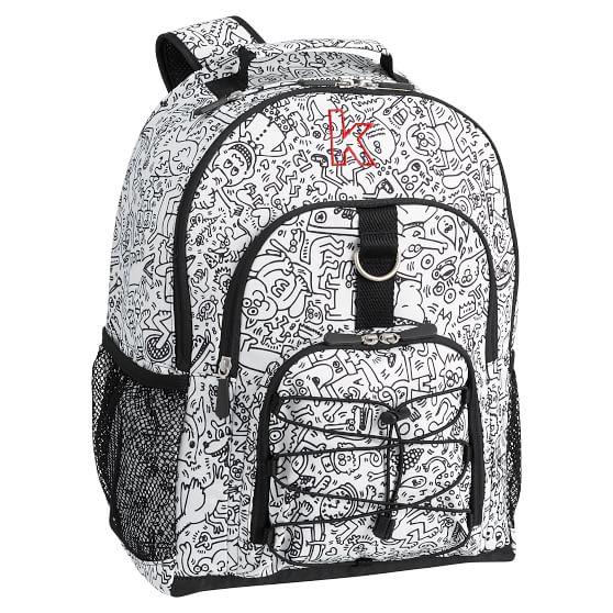 Keith Haring Teen Backpack Pottery Barn Teen