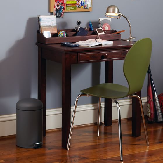Small Space Solutions Desk With Hutch Pottery Barn Teen