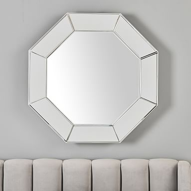 Geometric Decorative Mirror Pottery Barn Teen