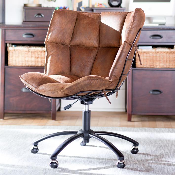 Trailblazer Glove Swivel Chair Teen Desk Chair Pottery Barn Teen