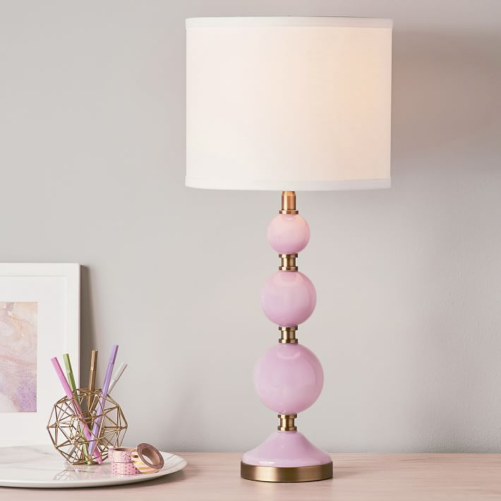 Tilda Bubble Table Lamp Teen Lamp Pottery Barn Teen