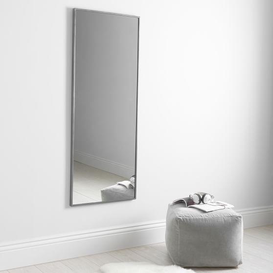 Metal Framed Full Length Mirror, Full Length Mirror Black Metal Frame