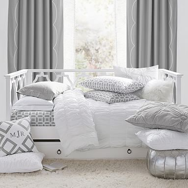 Elsie Daybed Trundle Teen Bed, Daybed With Trundle Bedding Sets