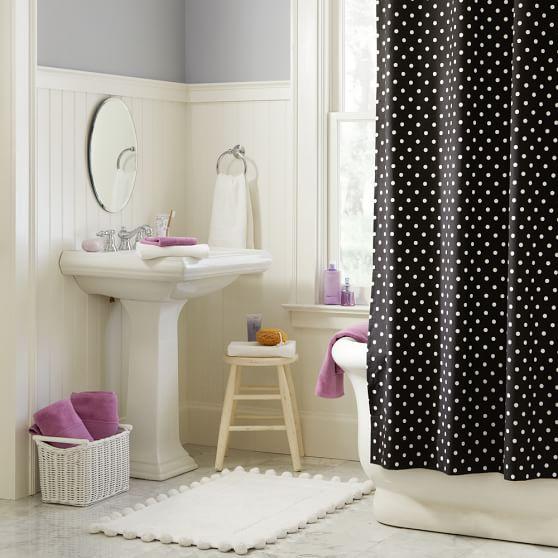 Dottie Teen Shower Curtain Pottery Barn