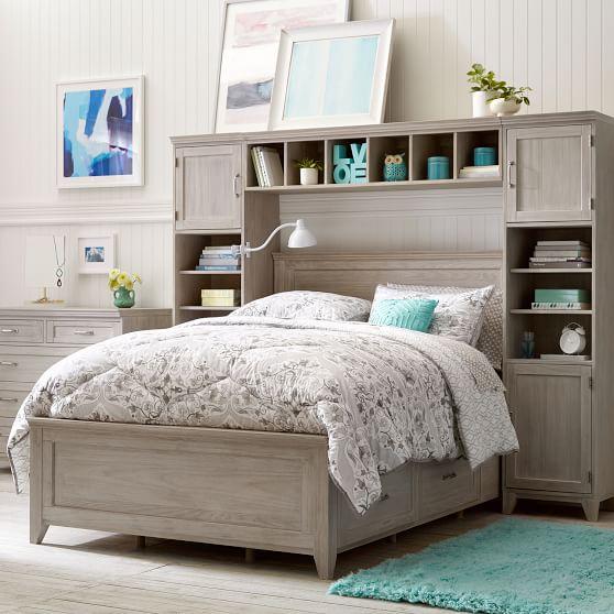 Hampton Storage Bed Super Set Teen, Pottery Barn Teen Furniture