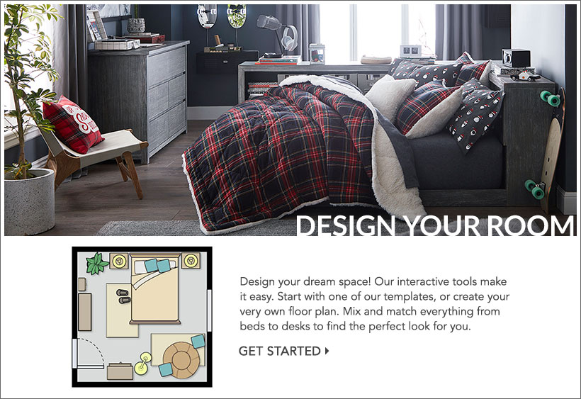 Design Your Own Room Pottery Barn